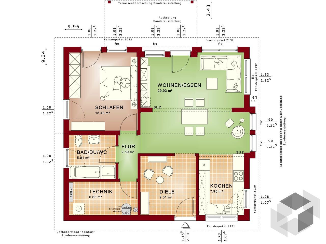 Groß Eine Küche Grundriss Bauen Ideen - Ideen Für Die Küche ...