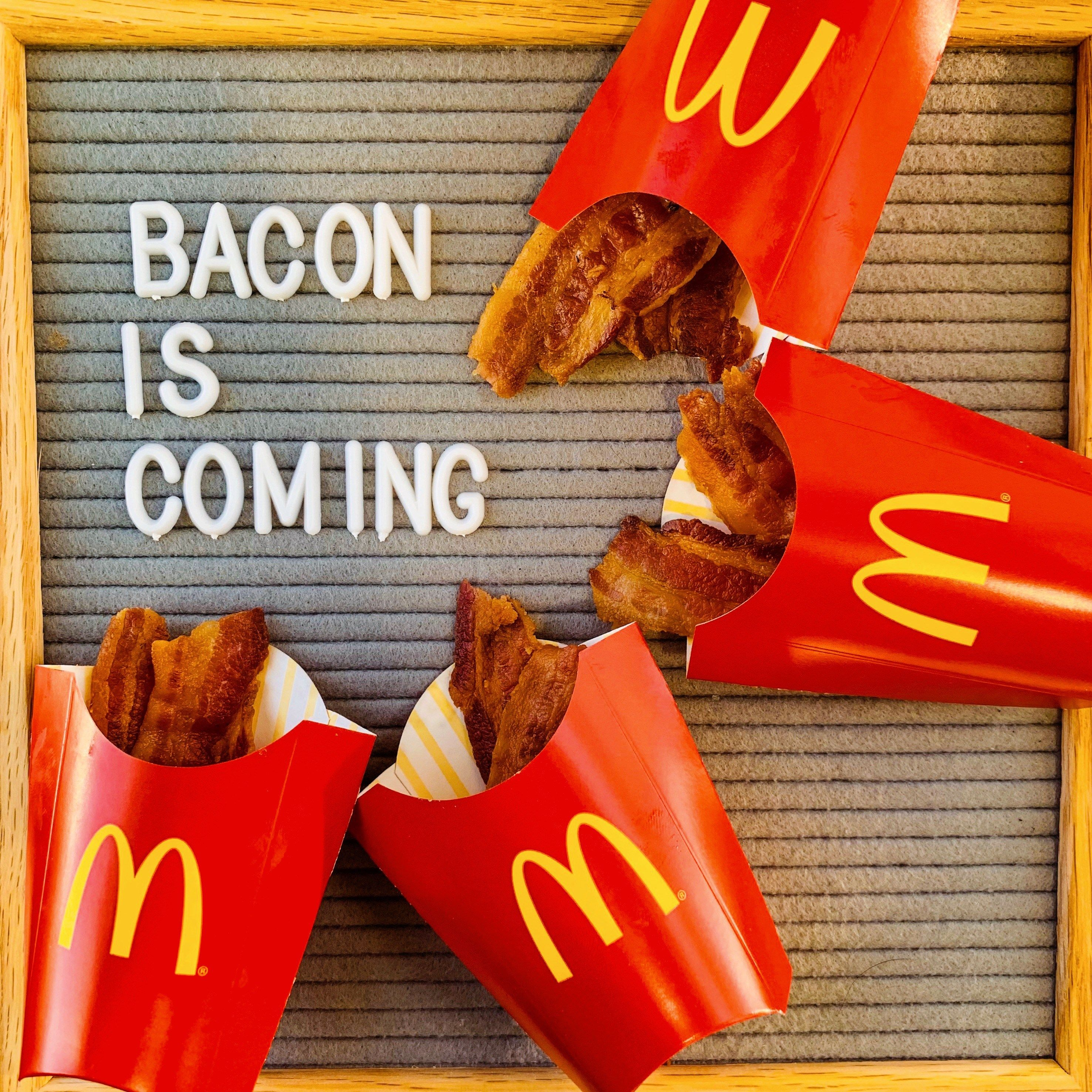 Bacon Is Coming McDonald's Introduces New Bacon Items to