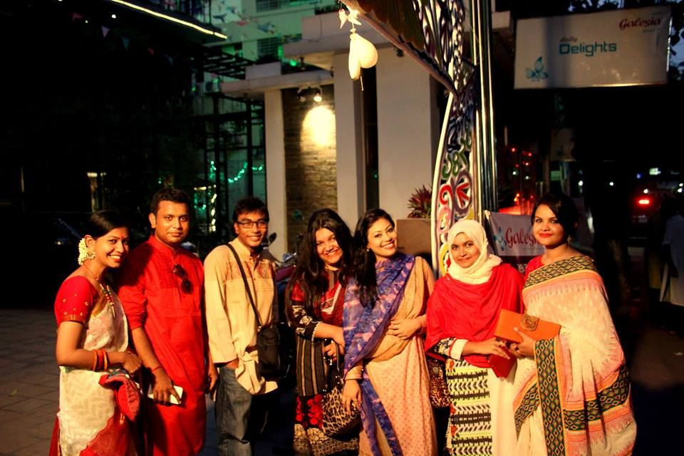 at pohela boishakh with all of my frnds :)
