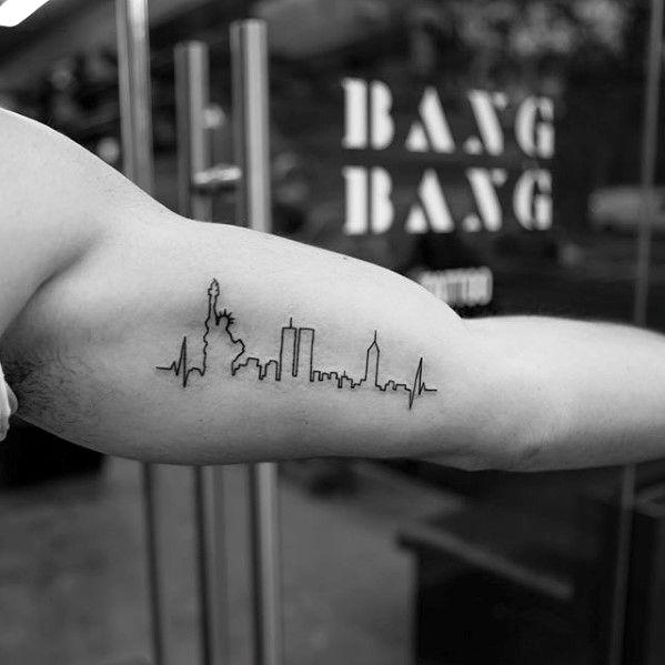 40 Small Minimalist Tattoos For Men Aesthetic Ink Ideas Tatouage Tatouage Temporaire Tatoo