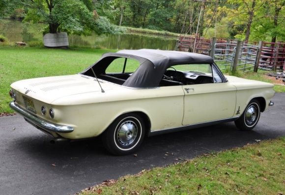 bat exclusive: 1964 chevy corvair monza spyder | rides priority