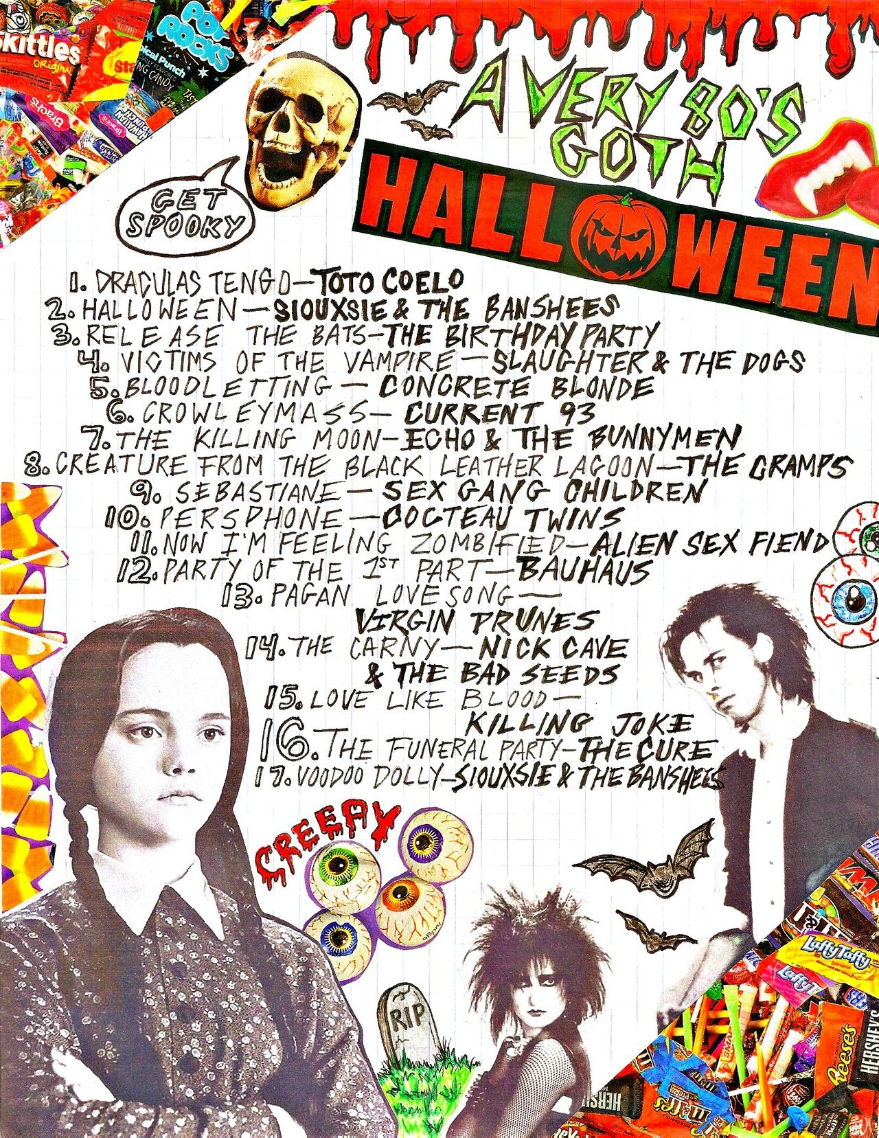 80s goth halloween mixtape !! listen to it on 8tracks here