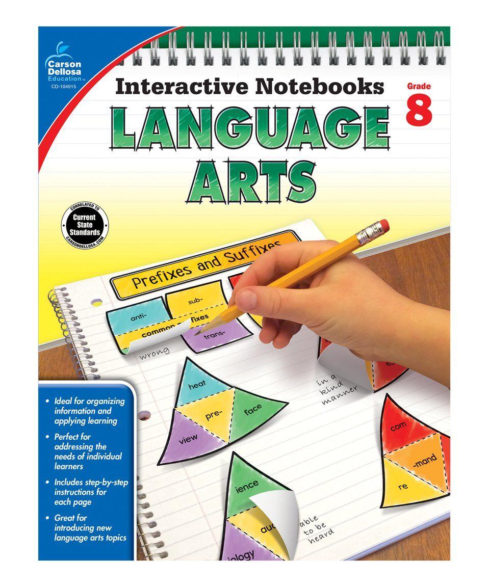 Workbooks kindergarten common core workbook : Take a look at this Grade 8 Language Arts Workbook today! | Home ...