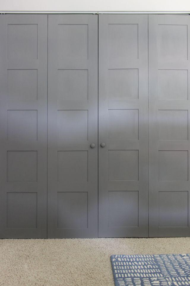 Craftsman Style Closet Door Diy Upgrade Diy Bloggers To Follow Pinterest Closet Doors