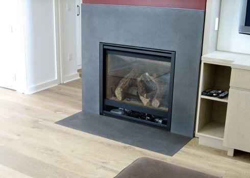 concrete fireplace surrounds trueform concrete custom work