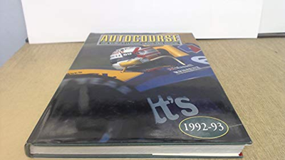 Autocourse The World S Leading Grand Prix Annual 1992 93 By Alan Henry Motorbooks Intl Grand Prix Engine Repair Car Painting