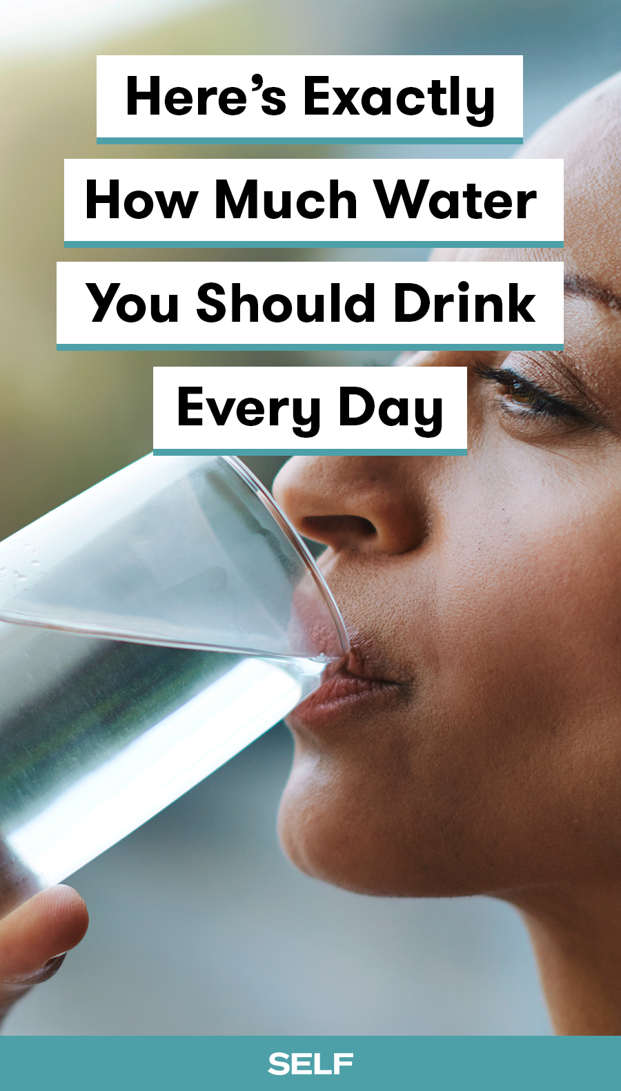 This Is Exactly How Much Water You Need to Drink in a Day