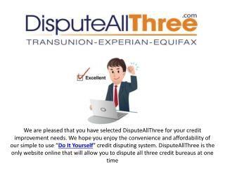 Sample Credit Dispute Letter  Credit Dispute Debt And Credit Report