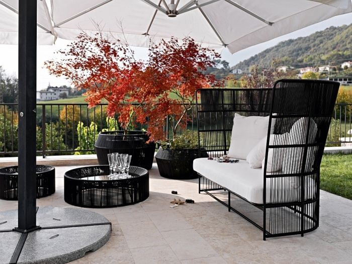 Salon de jardin design- la collection Tibidabo par Varaschin ...