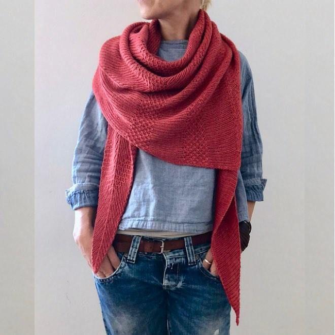 Photo of Triangular scarf Plein Soleil   My fabulous world