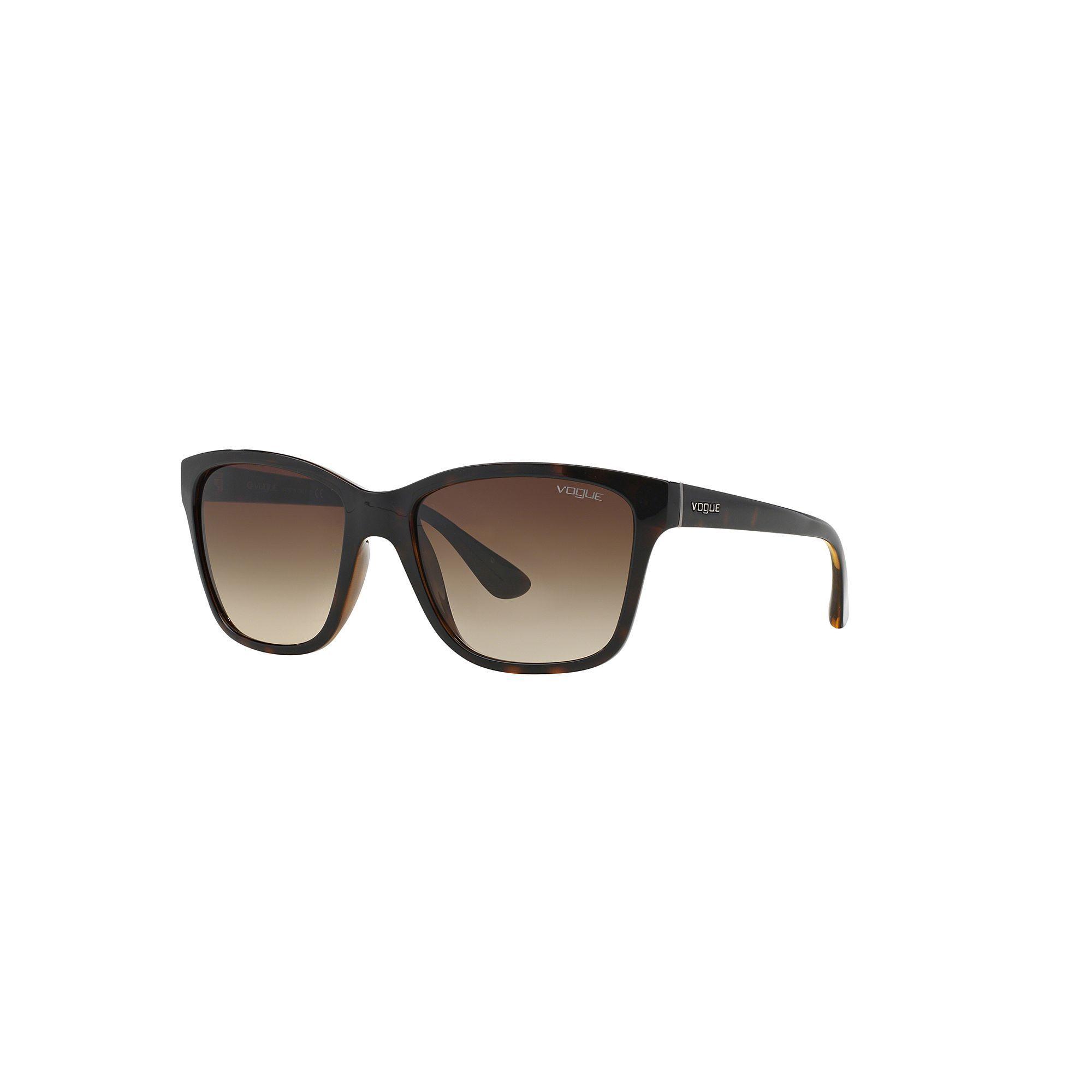 12e07116122 Vogue VO2896S 54mm Square Gradient Sunglasses