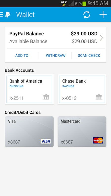 Paypal, Android market best android apps download free