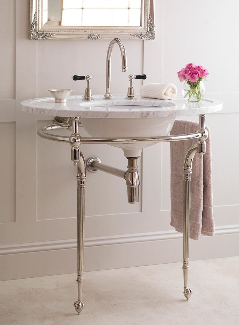small sink vanity for small bathrooms%0A The Kinross Basin Arabascato in Marble Washstands   Buy Online at Catchpole   u     Rye    Ideas For Small BathroomsDownstairs