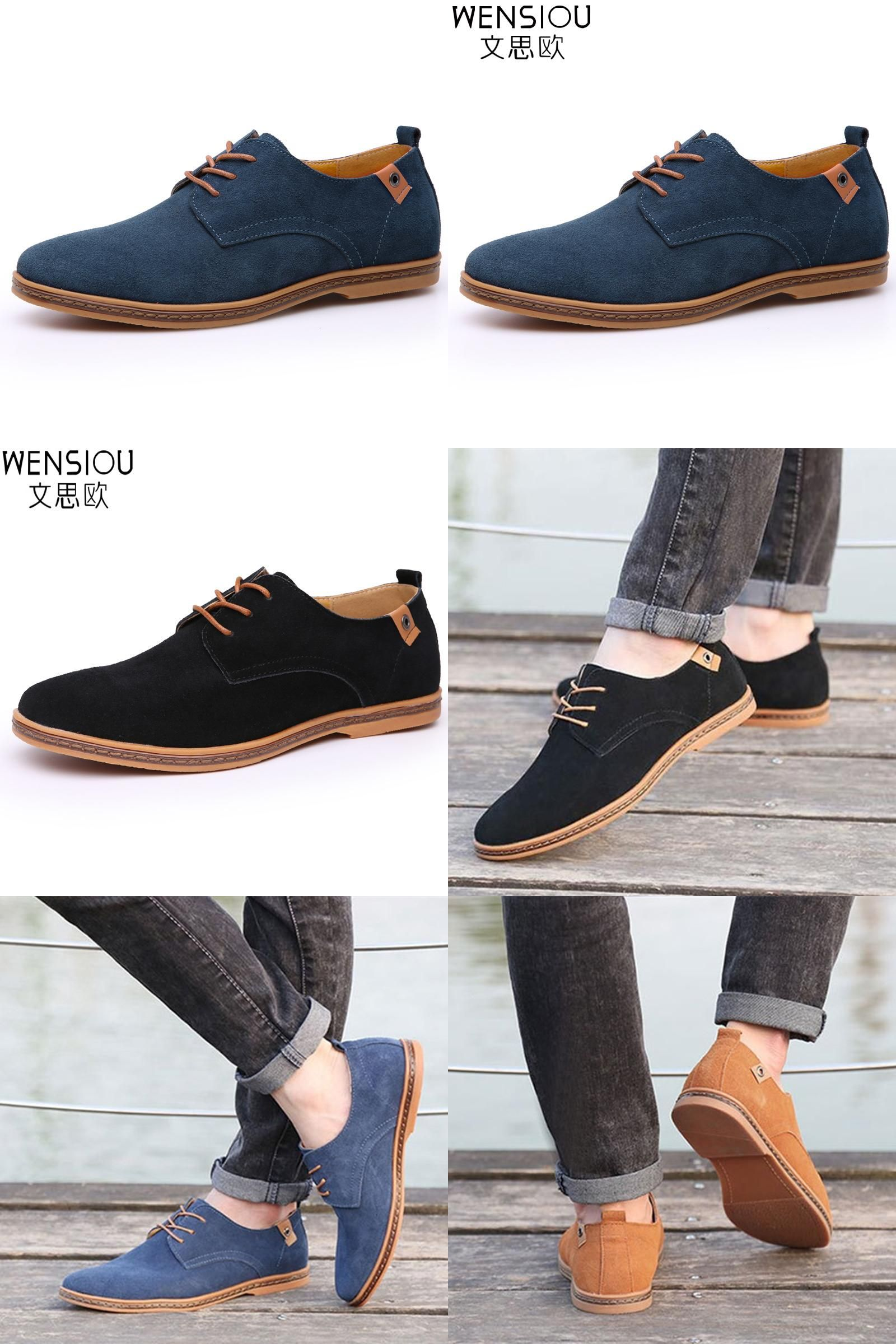 Espadrilles Mens Low-Top Canvas Shoes Outdoor Exercise Sneakers Casual Flat Loafers Lace-up Deck Shoes (Color : C Size : 44)