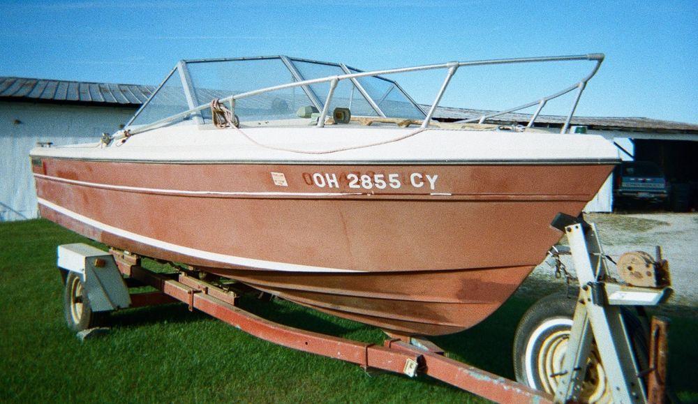 1977 Bayliner Admiralty Motor Boats Motors Ohio Cabin Fountain Powerboats Flats