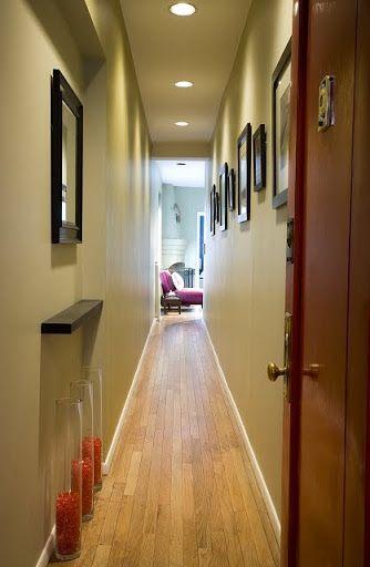 Long Narrow Entry Hall Anne Davis Design Www Annedavisdesign Com Narrow Entry Hallway Narrow Hallway Decorating Small Hallways