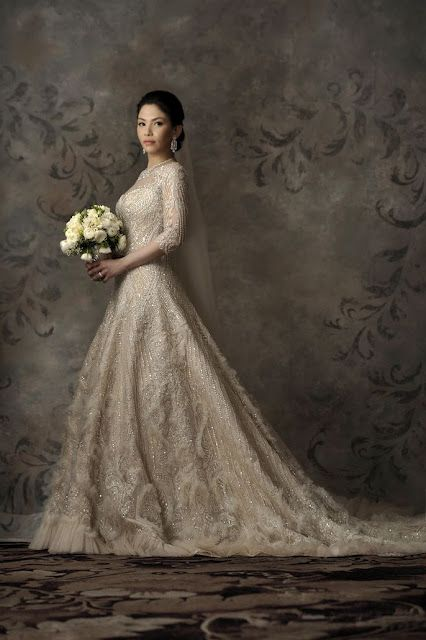 Ivy A Veluz Gown Pin For Pinterest Custom Wedding Gown