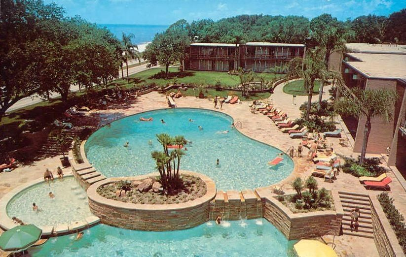 The Broadwater Beach Hotel Biloxi Mississippi Learned How To Swim Here When My Dad Was Stationed At Keesler Afb