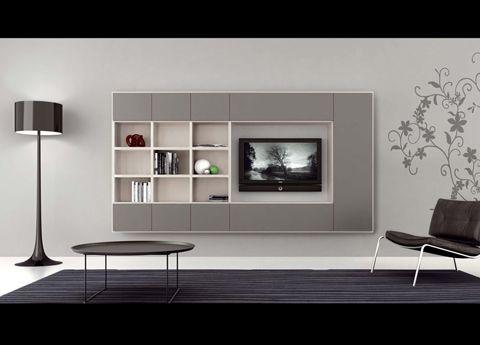 Novamobili Wall Unit Gd 178 Living Room Furniture Uk Fitted Bedroom Furniture Wall Unit Contemporary living room furniture uk