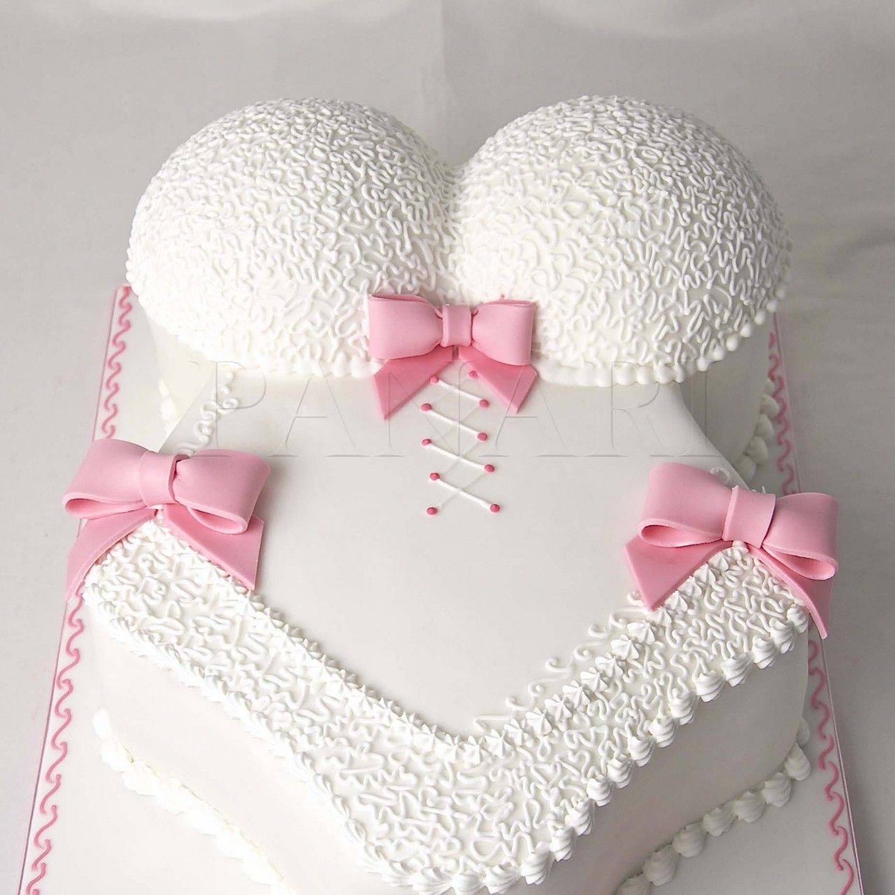 Buttercream Corset Cake