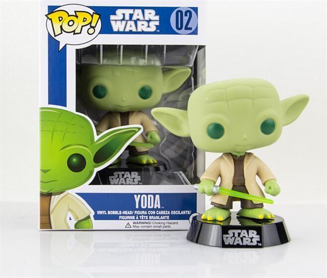 Figurine Star Wars Yoda Pop 10cm