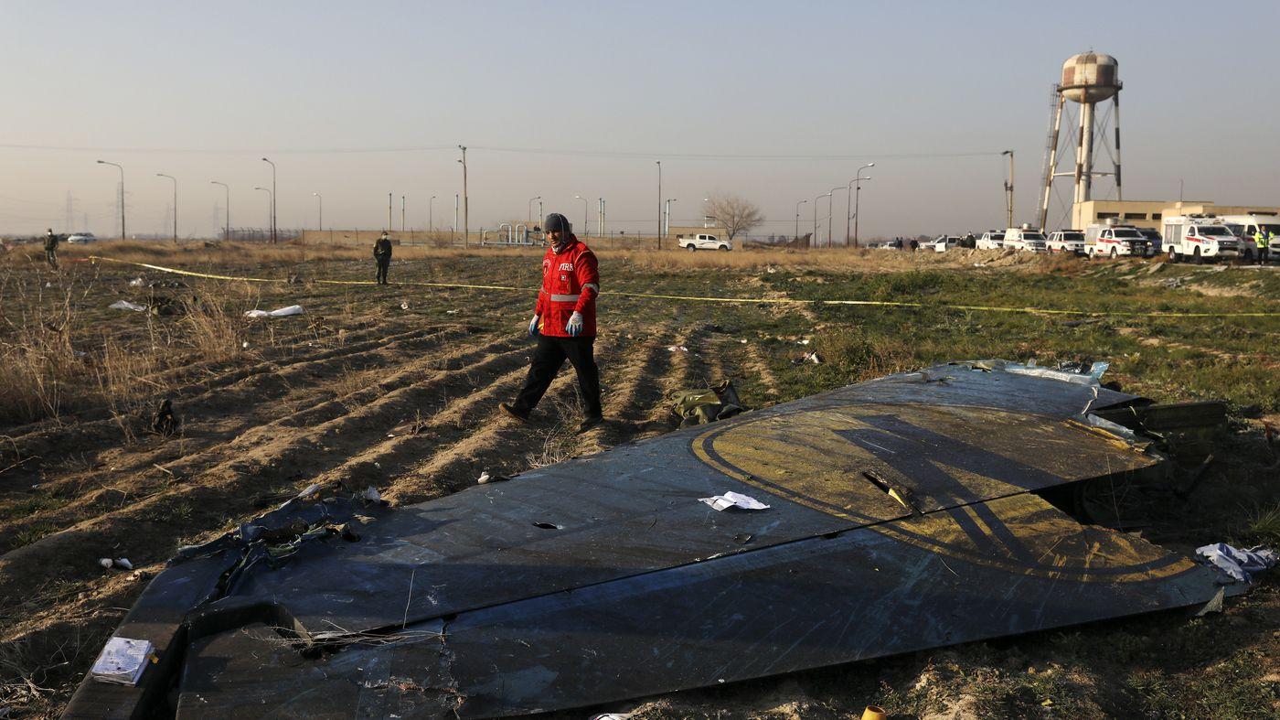 NPR News Canada 'Shocked And Saddened' After Jet Crash