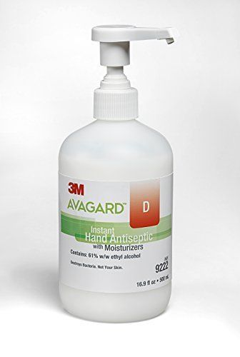3m 9338 Instant Gel Hand Antiseptic With Moisturizer 500ml
