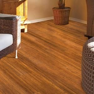 Home Legend Wire Brushed Strand Woven Cane 3 8 In T X 3 7 8 In W X 36 1 4 In Length Solid Bamboo Flooring 23 41 Sq Ft Case Hl212 The Home Depot Bamboo Flooring Flooring Engineered Bamboo Flooring