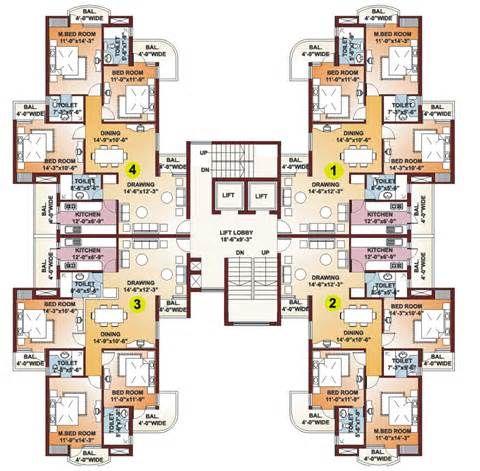 High Rise Residential Building Plans | inspired | Pinterest ...