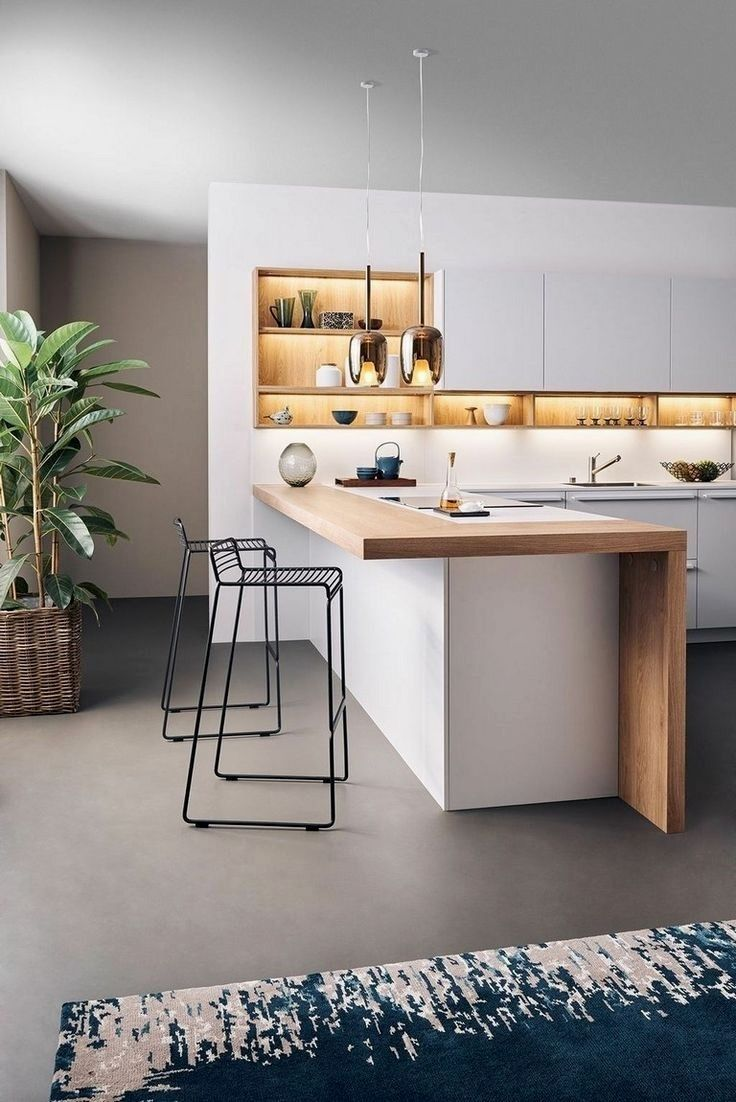 How Can You Do This For Your Kitchen So Pretty Good Right But You Are Probab Cocinasabiertas Modern Kitchen Design Home Decor Kitchen