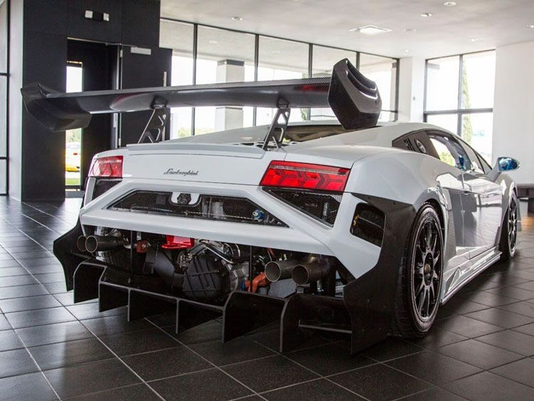 This Rear Means Business, The 2013 Specs Lamborghini Gallardo Super Trofeo  Race Car