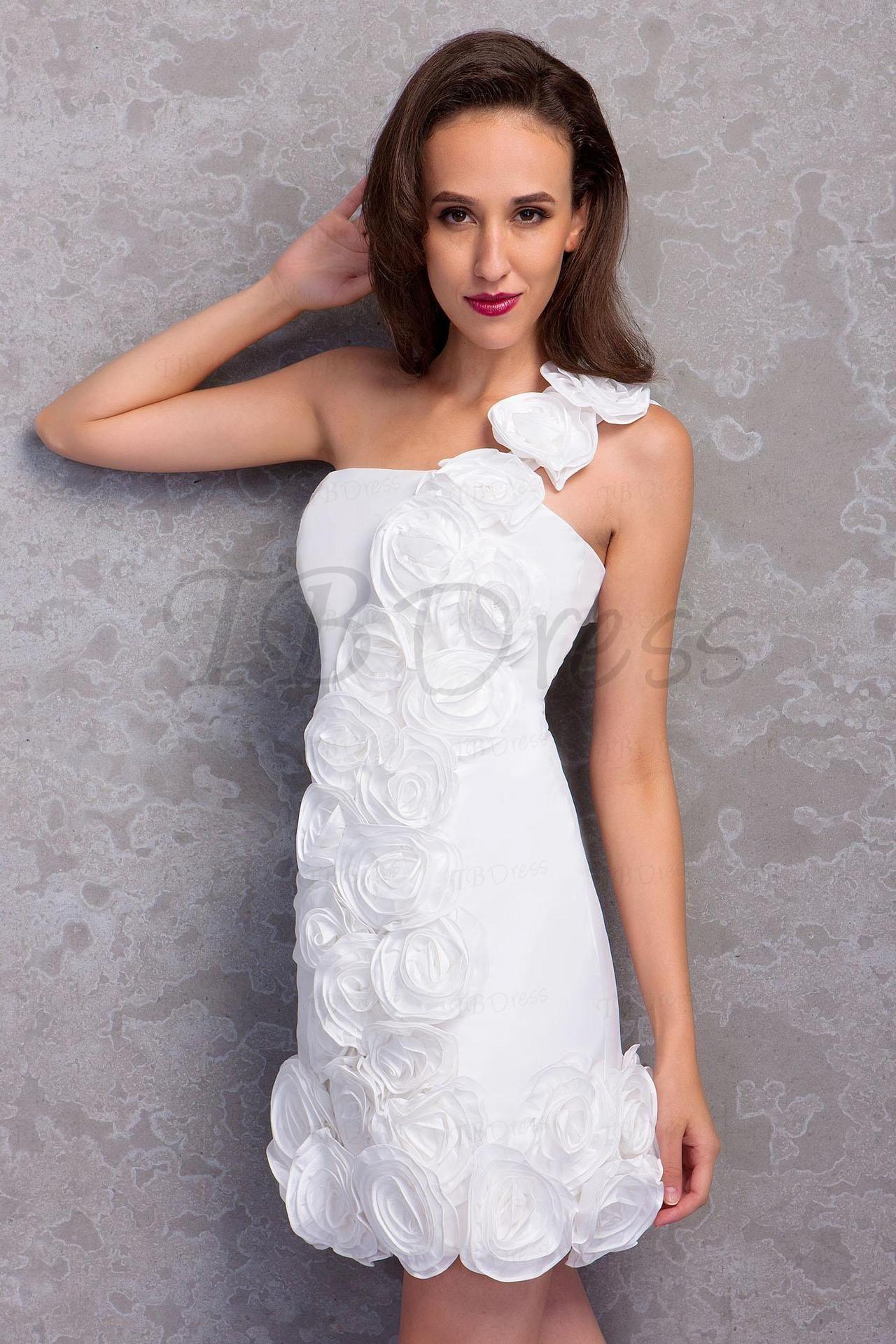 Column Mini One Shoulder Renata&#8217#tbdress reviews#women dresses#short dresses#