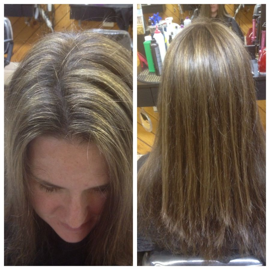 Highlights Well Blended In By Me 20 Vol Blue Bleach 7 1 Toner Long Hair Styles Hair Hair Styles