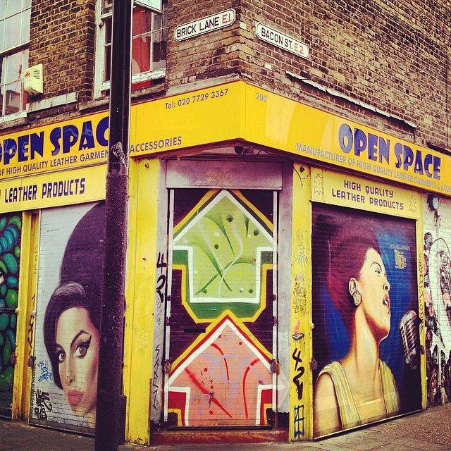The hood. #BrickLane #BaconStreet. Coincidence? You decide... #MeatPorn #Eastlondon #love #London #streetart #graffiti #streetfood #amywinehouse #bacon