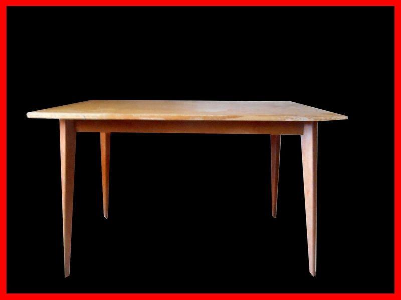 Table vintage scandinave meubles design vintage for Meuble scandinave table