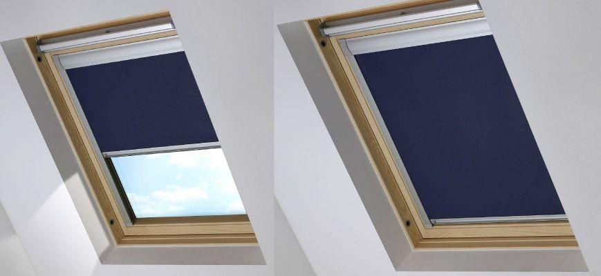 Blackout skylight shades skylight shade motorized
