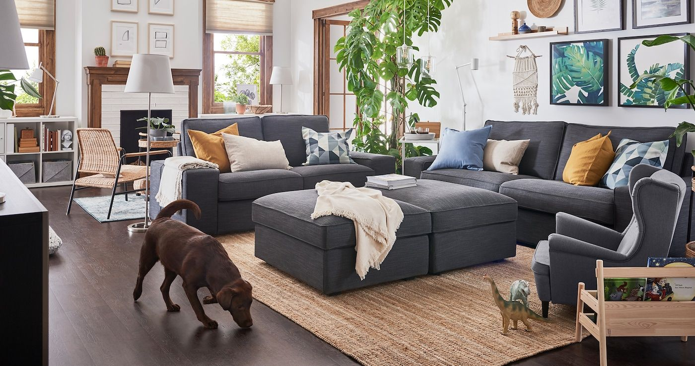 Your Flexible Living Room For Everyone Ikea Living Room Living Room Decor Furniture Small Space Living Room
