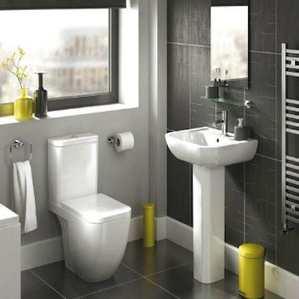 Glass Bathroom Sinks B&Q bathroomcompare | b&q cooke & lewis clancy square deep basin