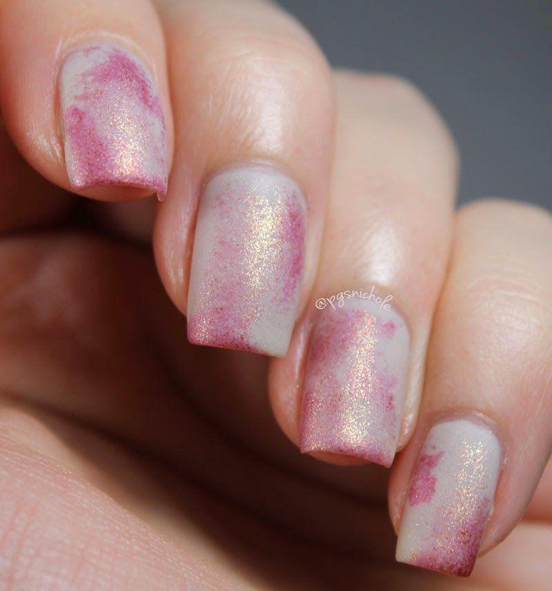 Science Nail Designs: Evolving Nails: Delicate Flesh