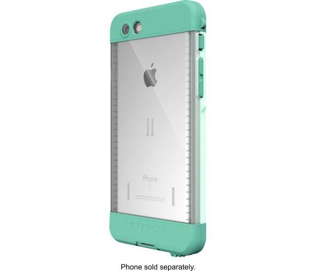 Best Buy Lifeproof Nüüd Protective Waterproof Case For Apple Iphone 6s Undertow Aqua 77 52604 Water Proof Case Iphone 6s Case Lifeproof Iphone 6s Cases