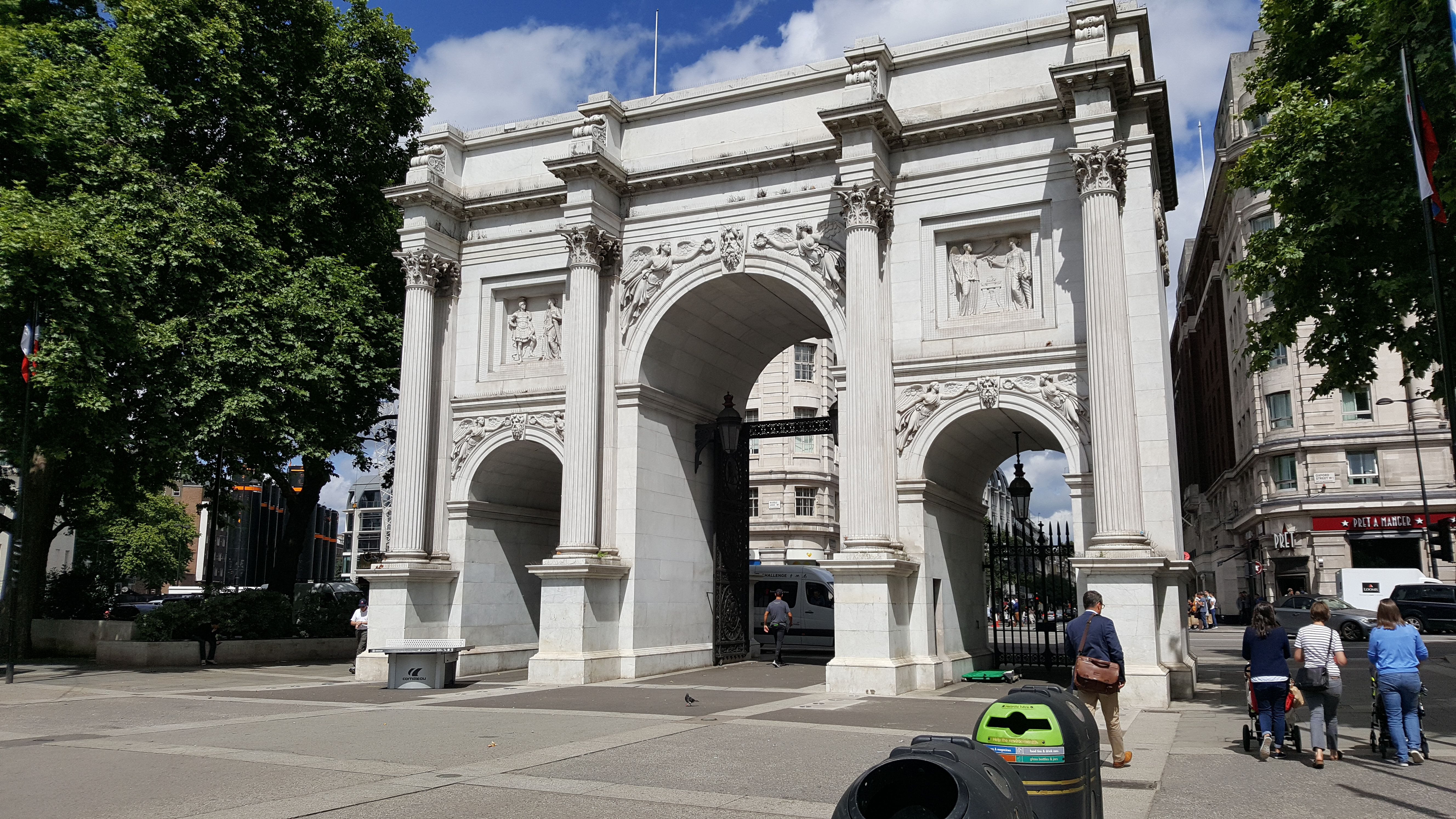 The Marble Arch And The Loo Marble Arch Arch Loos