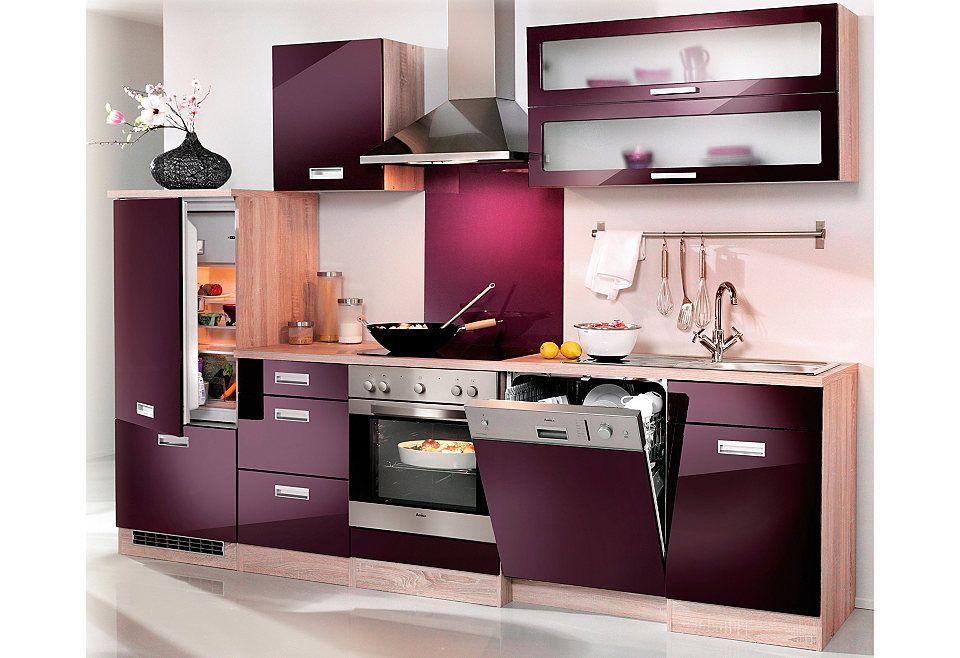 HELD MÖBEL Küchenzeile ohne E-Geräte »Fulda, Breite 280 cm« Jetzt - küchenblock 260 cm