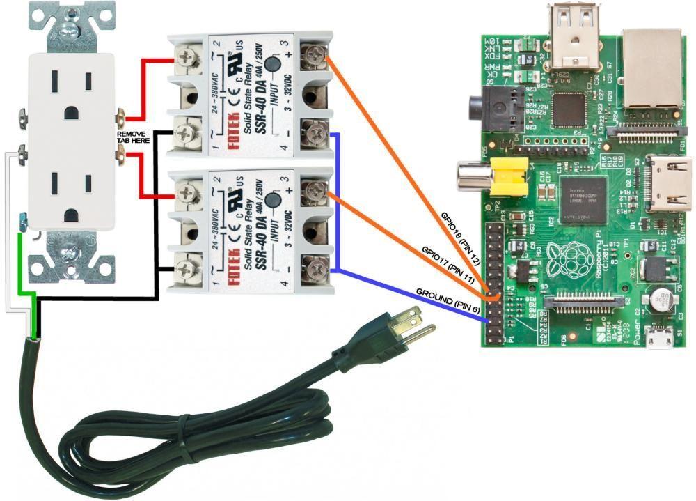 Pi Power Controller Wiring Diagram Ssr: Fotek Ssr Wiring Diagram At Eklablog.co