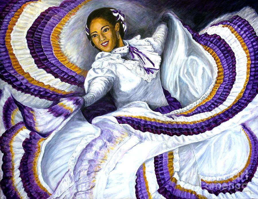 Baile Jalisco Painting