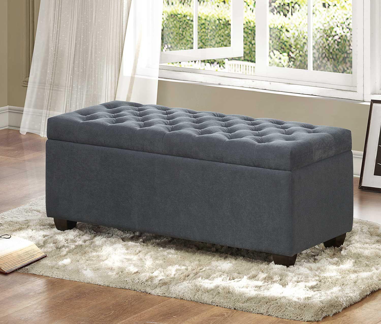Awesome grey shoe storage bench Awesome grey