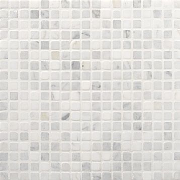 mosa que sol mur en marbre min ral artens blanc carrare 30x30cm leroy merlin. Black Bedroom Furniture Sets. Home Design Ideas