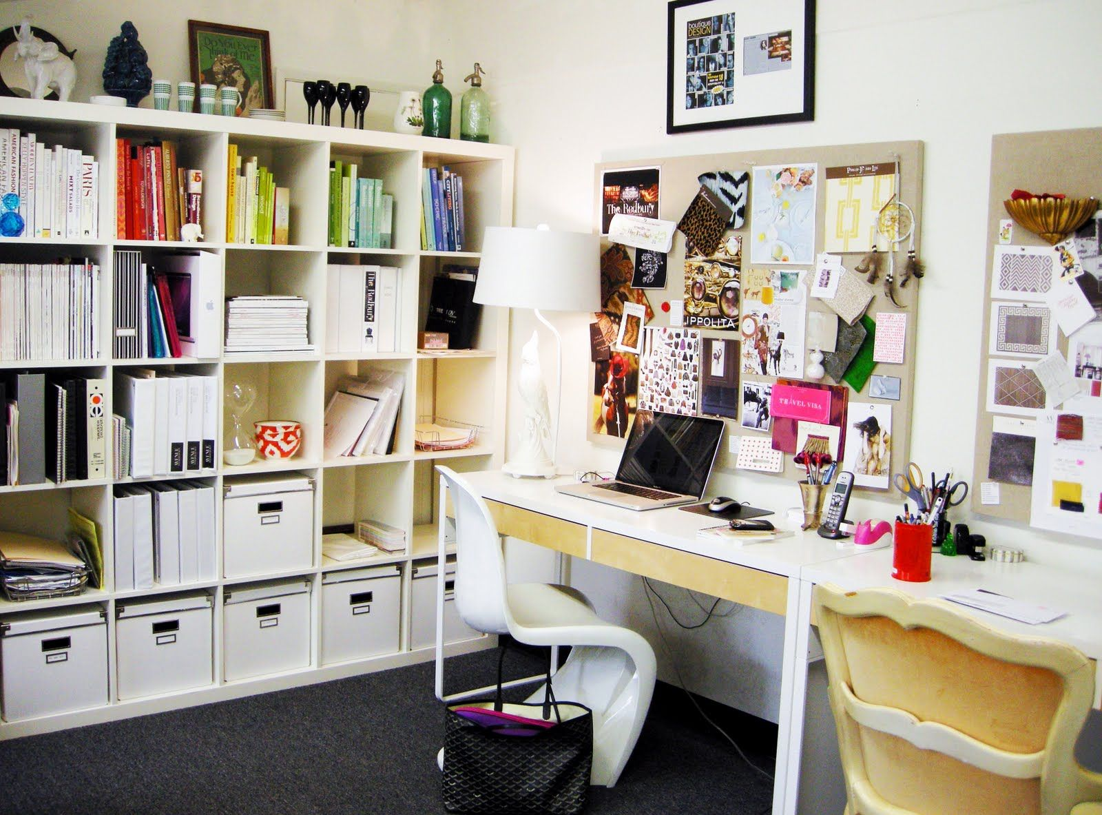 1000 images about vitra home office on pinterest panton chair home office and desks black white home office cococozy 5
