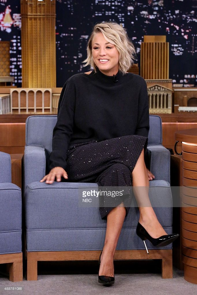 Actress Kaley Cuoco On September 17 2015 Screenshots In 2019