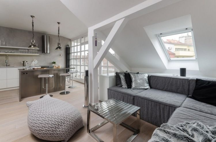 Lovely Ideen · Wohnung Im Dachgeschoss ... Awesome Ideas