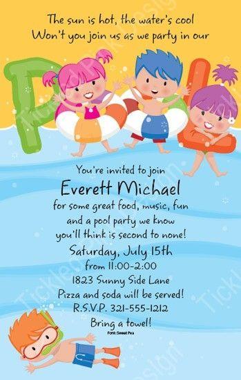 Birthday Invites For Kids Elitadearest